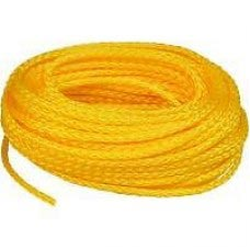 "2"" 3-STRAND YELLOW POLYPRO ROPE"