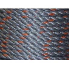 "3/8"" 600' COIL 3-STRAND SUPERPRO BLUE DOMESTIC ROPE"