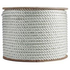"1-1/4"" 600' COIL 3-STRAND NYLON DOMESTIC ROPE"