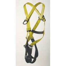 96305FB FULL BODY HARNESS, CLIMBING TYPE. D-RING CENTER BACK AND FRONT