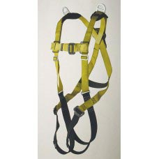 96307 FULL BODY HARNESS, RETRIEVAL TYPE. D-RING CENTER BACK AND ON EACH SHOULDER