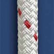 "1/2"" DOUBLE BRAID WHITE NYLON ROPE"