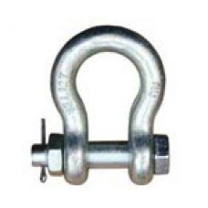 "5/8"" GALV BOLT TYPE ANCHOR SHACKLE  WLL 3-1/4 TON"
