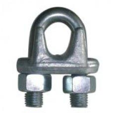 "1/4"" GALV DROP FORGED CLIP DOMESTIC"