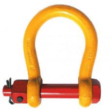 "48 TON (2-1/4"")SEA-LINK DOMESTIC ALLOY TOW  SHACKLE (PIN:2-1/2"" JAW:6-1/4"")"