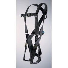 UPF-96305FBQL ULTRA PILLOW-FLEX HARNESS, D-RING CENTER BACK AND FRONT WITH PADDED LEG STRAP AND QUICK RELEASE BUCKLES.