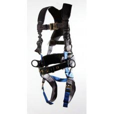 UPFX-96305WSQL ULTRA PILLOW-FLEX HARNESS, IRON WORKERS TYPE. BACK PAD, TOOL BELT, PADDED LEG STRAP, QUICK RELEASE BUCKLES AND X-PAD