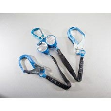 US-HPSY8CA WEB RETRACTABLE Y-LANYARDS WITH NEW SWIVEL TOP AND CARABINERS