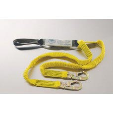US-96516LY ULTRA-STRETCH SHOCK ABSORBING Y-LANYARD WITH LOOP ON SHOCK PACK