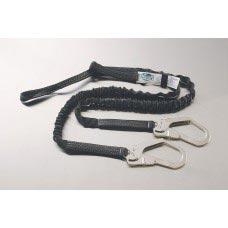 UT-96516LYSR ULTRA-TUBE SHOCK ABSORBING Y-LANYARD WITH LOOP ONE END AND REBAR HOOKS OTHER END