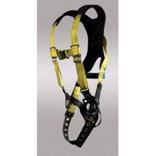 X-96305TQL X-PAD CLASSIC D-RING CENTER BACK, EACH HIP, TONGUE BUCKLE LEGS, CHEST QUICK RELEASE AND X-PAD