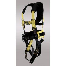 X-96396BQL X-PAD CLASSIC D-RING CENTER BACK, EACH HIP, TONGUE BUCKLE LEGS, CHEST QUICK RELEASE, BACK PAD WITH TOOL BELT AND X-PAD