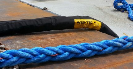 WEB-TEC chafe guard - IS-Grade sliding